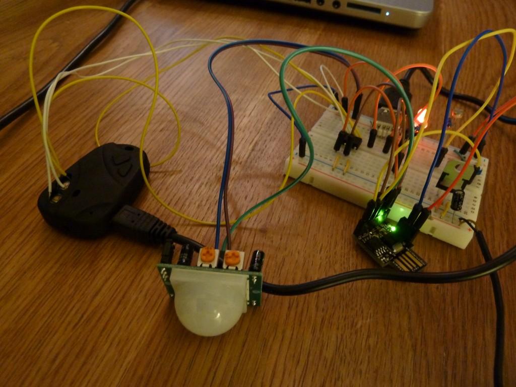 Spycam prototype