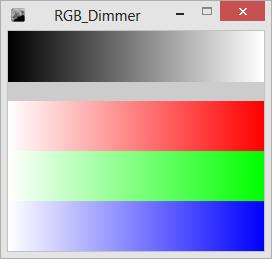 RGB Dimmer GUI